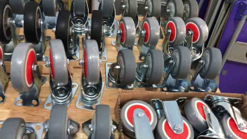 bánh xe giàn giáo các loại