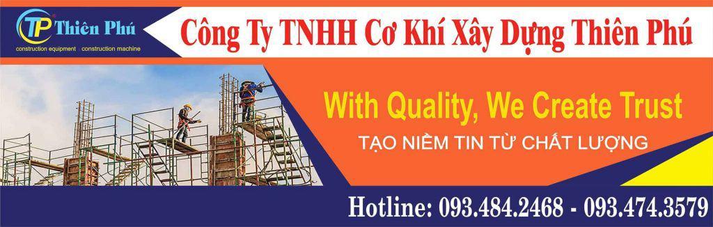 Công Ty TNHH Cơ Khí Xây Dựng Thiên Phú