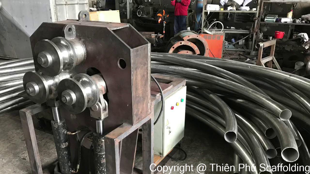 quá trình uốn ống