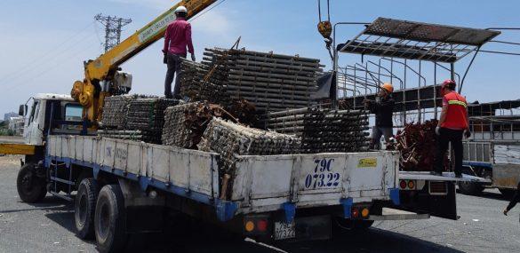 dịch vụ vận tải hàng hóa công trình
