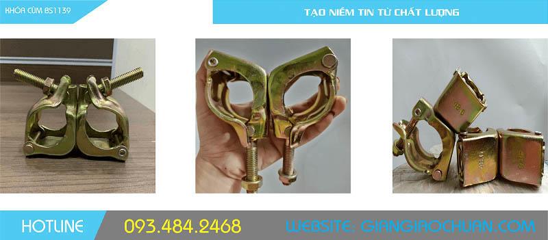 cùm giàn giáo Việt Nam sản xuất